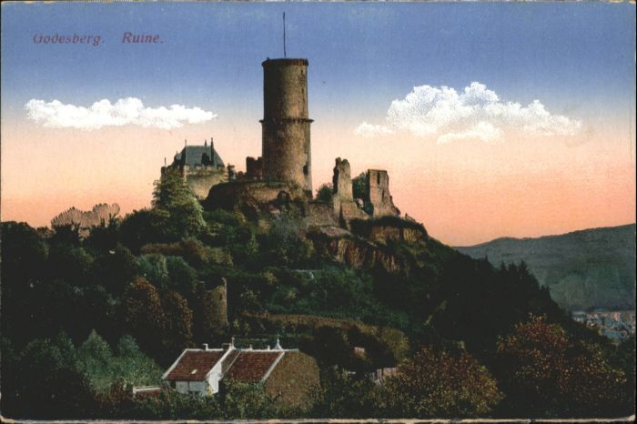 Bad Godesberg Bad Godesberg Godesberg Ruine * / Bonn /Bonn Stadtkreis