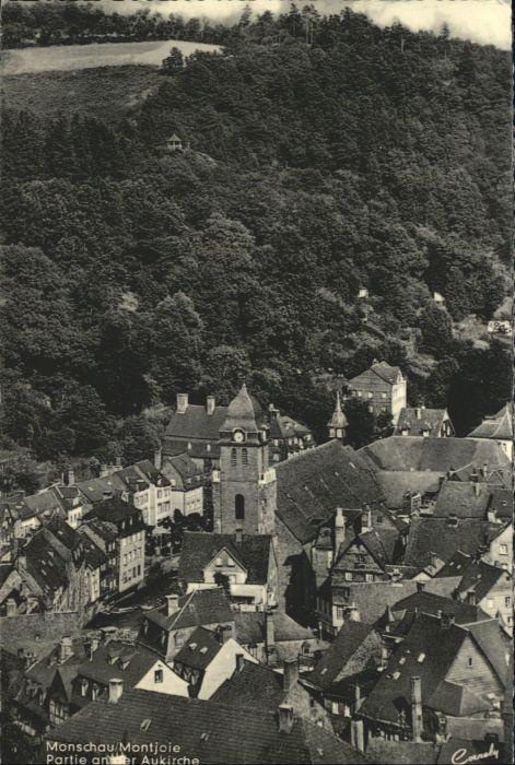 Monschau Monschau Montjoie Eifel Aukirche x / Monschau /Aachen LKR