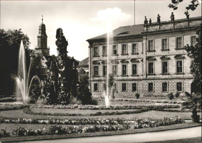 Erlangen Erlangen Schloss Brunnen * / Erlangen /Erlangen Stadtkreis