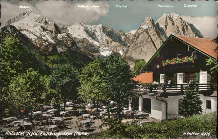 Garmisch-Partenkirchen Garmisch-Partenkirchen Aulealm Zugspitzgruppe * / Garmisch-Partenkirchen /Garmisch-Partenkirchen LKR