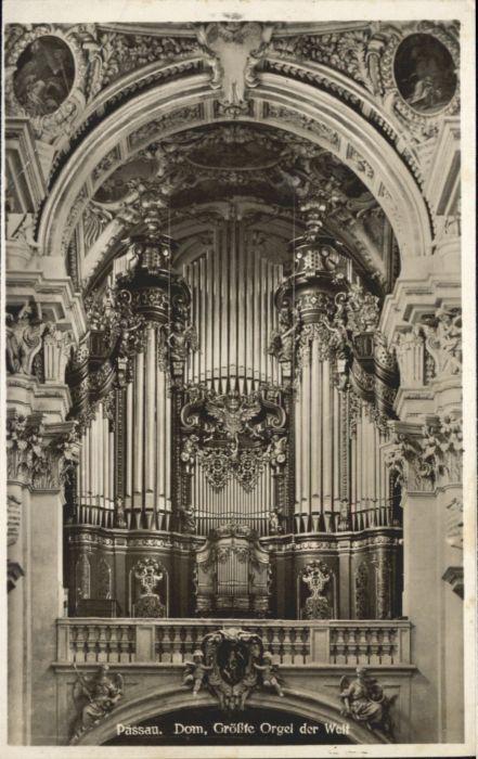 Passau Passau Dom Orgel Passau Passau Lkr Nr Ch97896