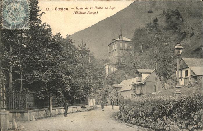 hw07227 Buchon Route de la Vallee du Lys Chateau Rouge Kategorie. Buchon Alte Ansichtskarten