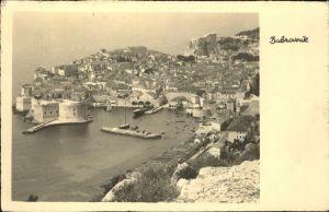 kk12390 Dubrovnik Hafen  Kategorie. Dubrovnik Alte Ansichtskarten