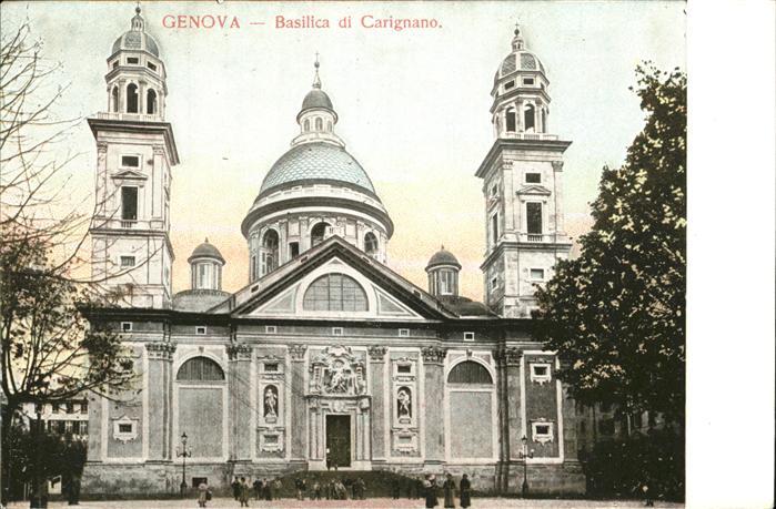 Genova Genua Liguria Basilica di Carignano Kat. Genova