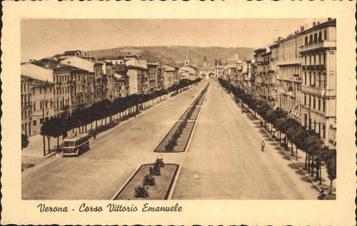 Verona Veneto Corso Vittorio Emanuele Kat. Verona