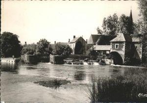Chateau du Loir Le Moulin de Nogent sur le noir Kat. Chateau du Loir