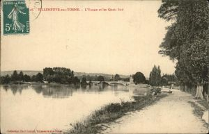 Villeneuve sur Yonne l Yonne les Quais Sud Kat. Villeneuve sur Yonne