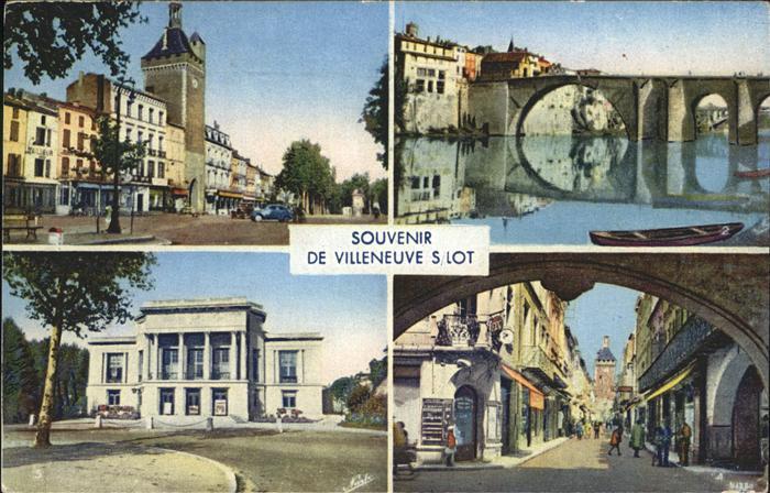 Villeneuve sur Lot  Kat. Villeneuve sur Lot