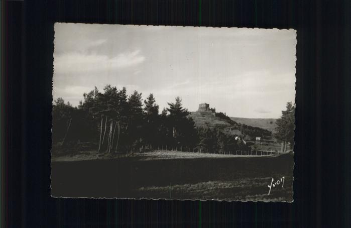 Murols Les Ruines du Chateau feodal Kat. Murols