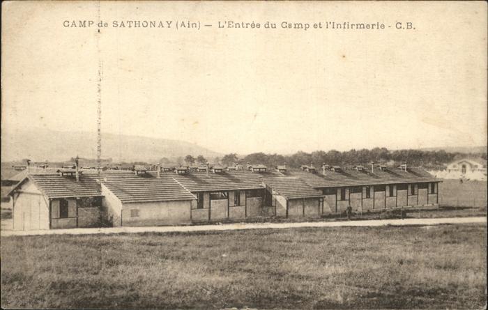 Sathonay Camp Camp  Kat. Sathonay Camp