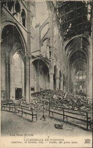 Soissons Aisne Cathedrale de Soissons Kat. Soissons