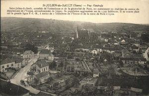 Saint Julien du Sault vue generale Kat. Saint Julien du Sault