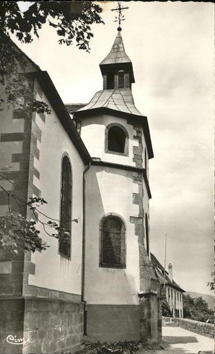 Pfaffenheim Haut Rhin Alsace Pelerinage Notre Dame du Schauenberg Wallfahrtskirche Kat. Pfaffenheim