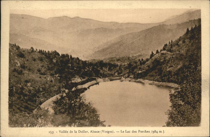 Oberbruck Haut Rhin Vallee de la Doller Lac des Perches Kat. Oberbruck
