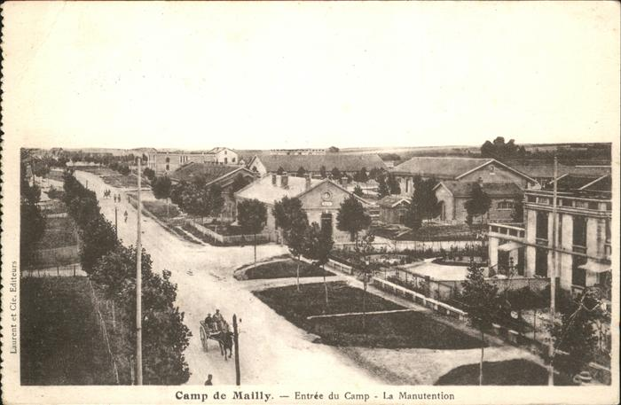 Mailly-le-Camp Entree du Camp Manutention / Mailly-le-Camp /Arrond. de Troyes