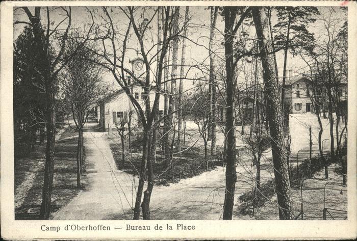 Bureau Le Of La : Oberhoffen sur moder le camp bureau de la place lager kat