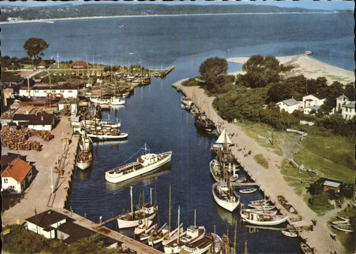 Timmendorfer Strand Niendorf Hafen Fliegeraufnahme Kat. Timmendorfer Strand