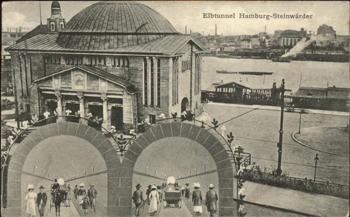 Steinwerder Hamburg Elbtunnel / Hamburg /Hamburg Stadtkreis