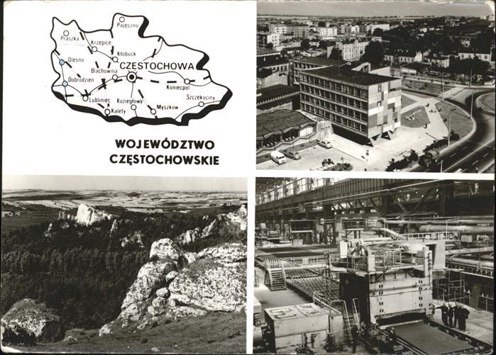 Czestochowa Schlesien Regierungsbezirke von Czestochowa Teilansichten Kat. Czestochowa