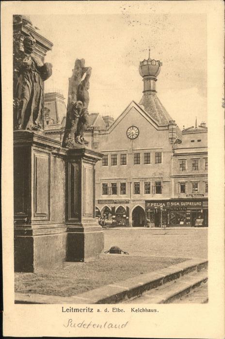 Leitmeritz Litomerice Nordboehmen Kelchhaus Sudetenland / Litomerice /