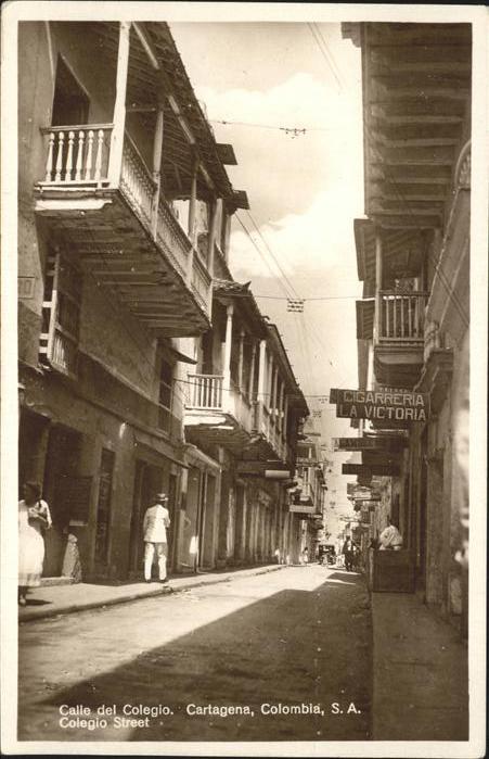 Cartagena Amazonas Calle del Colegio Kat. Cartagena