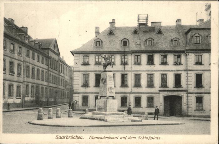 Saarbruecken Ulanendenkmal Schlossplatz Kat. Saarbruecken