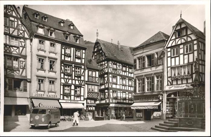 wb02278 Bernkastel-Kues Bernkastel-Kues Mosel Marktplatz * Kategorie. Bernkastel-Kues Alte Ansichtskarten