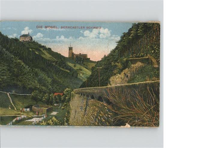 wb04008 Bernkastel-Kues Bernkastel-Kues Mosel * Kategorie. Bernkastel-Kues Alte Ansichtskarten