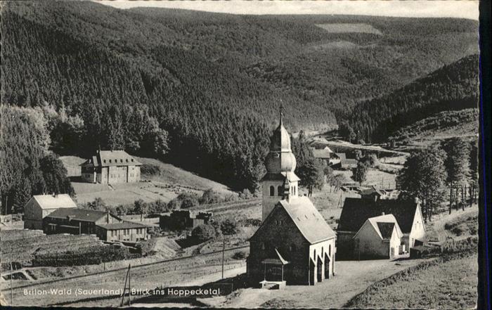 Brilon hoppecketal Kirche  x