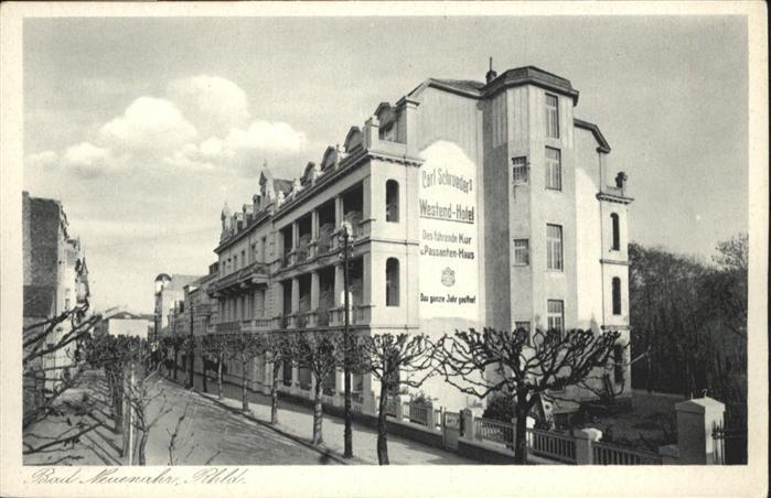 wb18734 Bad Neuenahr-Ahrweiler Bad Neuenahr Wstend Hotel  * Kategorie. Bad Neuenahr-Ahrweiler Alte Ansichtskarten