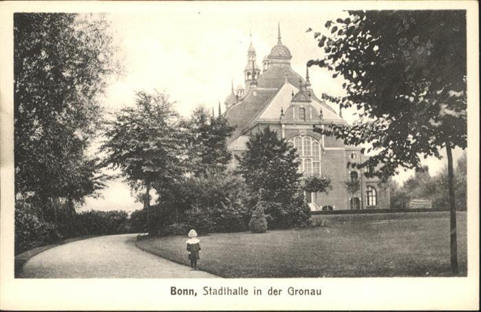 Bonn Rhein Stadthalle Gronau / Bonn /Bonn Stadtkreis