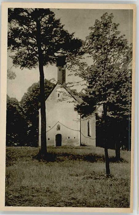 Bad Toelz Bad Toelz Leonhardis Kapelle ungelaufen ca. 1920 / Bad Toelz /Bad Toelz-Wolfratshausen LKR