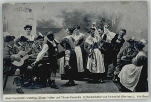 Bad Reichenhall Jakob Damhofer Jodler Taenzer Feldpost x 1916