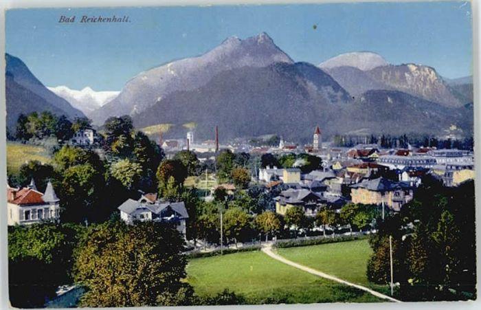Bad Reichenhall Bad Reichenhall  ungelaufen ca. 1920 / Bad Reichenhall /Berchtesgadener Land LKR