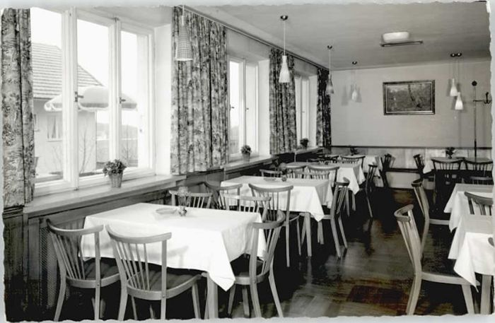 Bodenmais Hotel Hubertus O 1964 Nr Wd86108 Oldthing