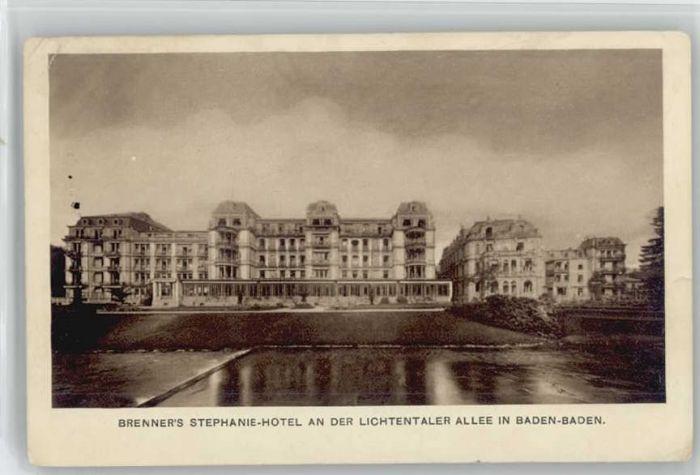 Baden-Baden Baden-Baden Hotel Stephanie x / Baden-Baden /Baden-Baden Stadtkreis
