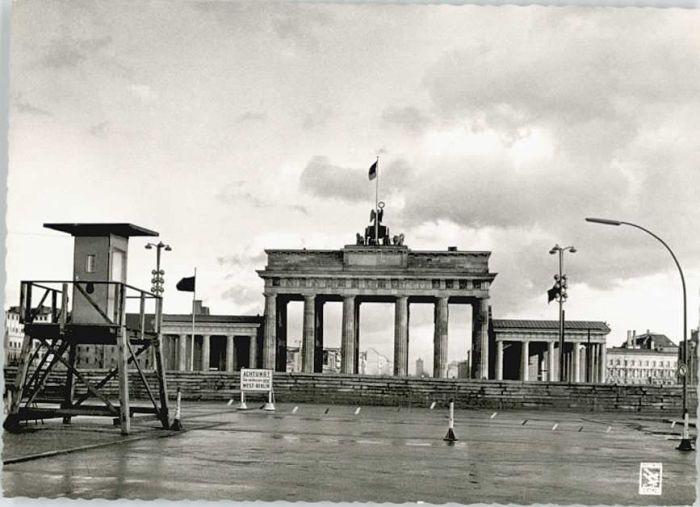 Berlin Berlin Brandenburger Tor x / Berlin /Berlin Stadtkreis