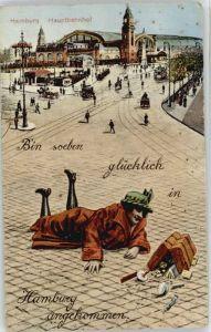 Hamburg Hamburg Kuenstlerkarte x / Hamburg /Hamburg Stadtkreis