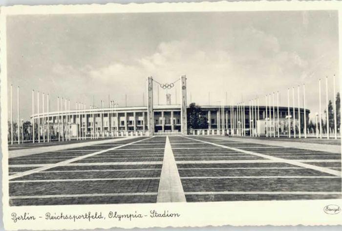Berlin Berlin Reichssportfeld Olympia Stadion * / Berlin /Berlin Stadtkreis