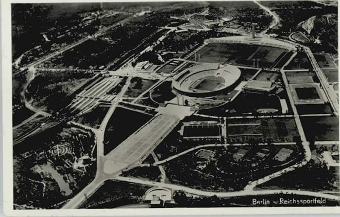 Berlin Berlin Fliegeraufnahme Reichssportfeld Olympia Stadion * / Berlin /Berlin Stadtkreis