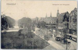Duesseldorf Duesseldorf Stadtgraben Koenigsallee x / Duesseldorf /Duesseldorf Stadtkreis