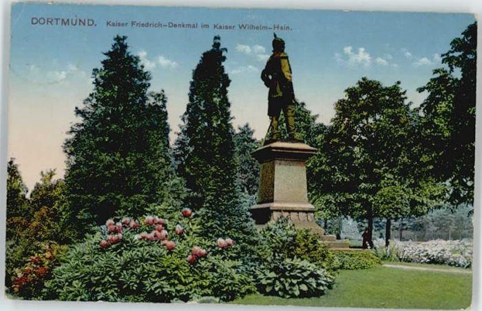 Dortmund Dortmund Kaiser Friedrich-Denkmal  x / Dortmund /Dortmund Stadtkreis