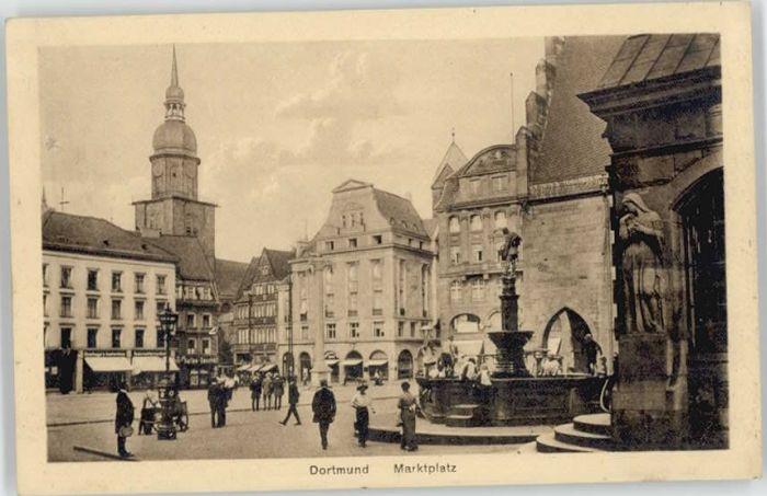 Dortmund Dortmund Marktplatz * / Dortmund /Dortmund Stadtkreis