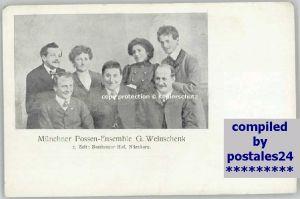 Nuernberg Possen-Ensemble G. Weinschenk * 1900