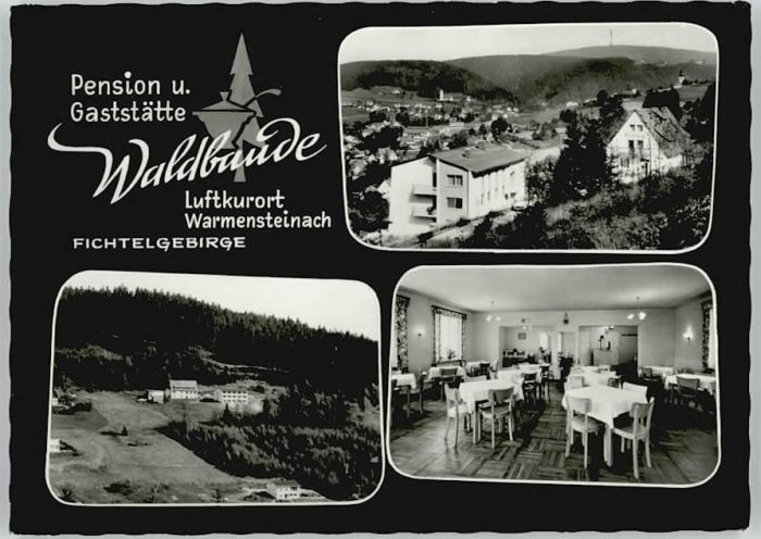 Warmensteinach Pension Gaststaette Waldbaude *