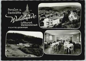 Warmensteinach Pension Gaststaette Waldbaude *