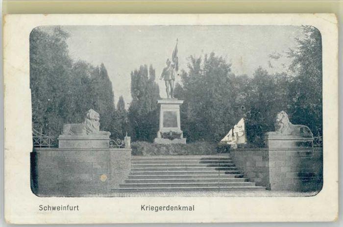Schweinfurt Kriegerdenkmal *