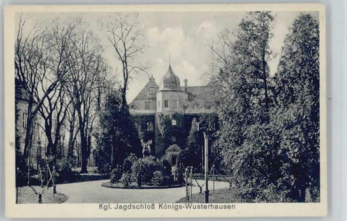Koenigs-Wusterhausen Koenigs Wusterhausen Jagdschloss * / Koenigs Wusterhausen /Dahme-Spreewald LKR