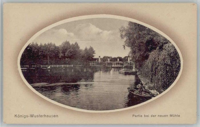 Koenigs-Wusterhausen Koenigs Wusterhausen Neue Muehle * / Koenigs Wusterhausen /Dahme-Spreewald LKR