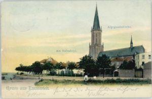 Emmerich Rhein Emmerich Algegundiskirche x / Emmerich am Rhein /Kleve LKR